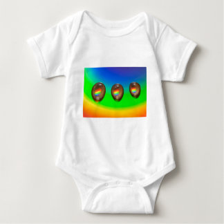 Colourful Pattern Products Baby Bodysuit