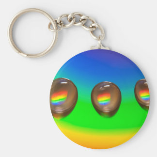 Colourful Pattern Products Key Ring