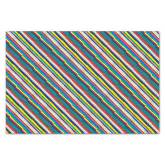 Colourful pattern tissue paper