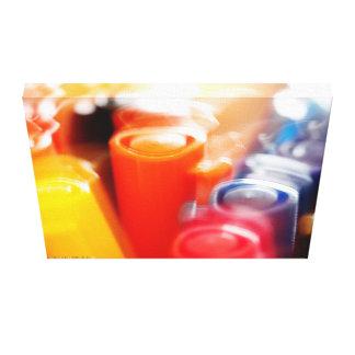 Colourful Pens Canvas Canvas Print