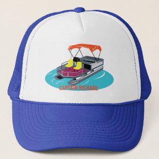 Colourful Personalised Pontoon Boat Cap