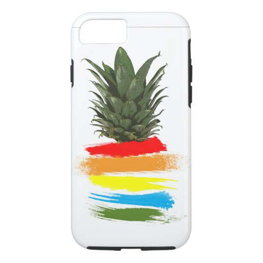 Colourful Pineapple iPhone 7 Case