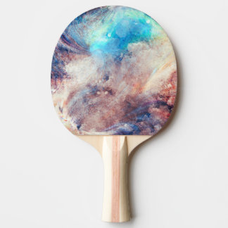 colourful ping pong paddle