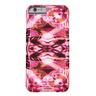 Colourful Pink graffiti pattern Barely There iPhone 6 Case