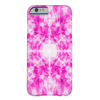 Colourful pink kaleidoscope pattern barely there iPhone 6 case