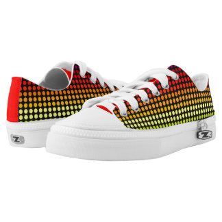 Colourful Polkadots Rainbow1 Printed Shoes