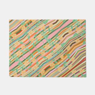 Colourful Print Doormat