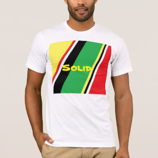 Colourful print on t-shirts