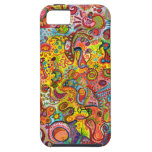 Colourful Psychedelic iPhone 5 Barely There Case
