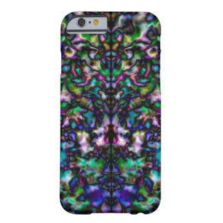 Colourful psychedelic kaleidoscope barely there iPhone 6 case