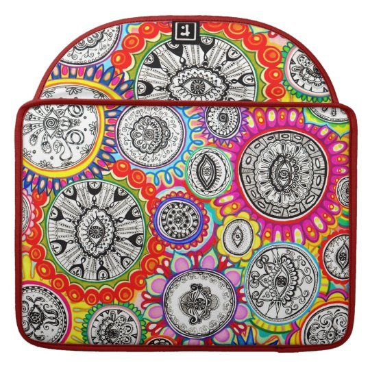Colourful Psychedelic Macbook Pro Sleeve