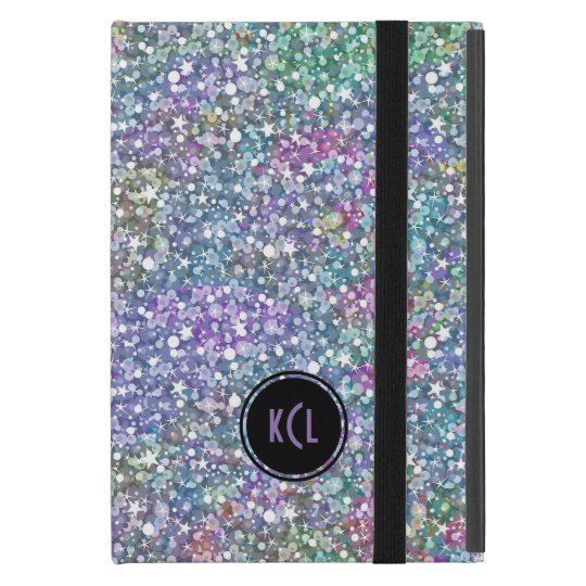 Colourful Purple Tint Glitter And Sparkles iPad Mini
