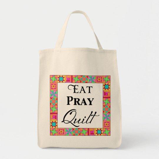 Colourful Quilt Blocks Border Art Eat Pray Quilt