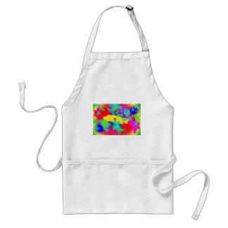 Colourful Random Trippy Pattern Standard Apron