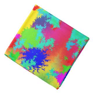 Colourful Random Trippy Pattern Bandana