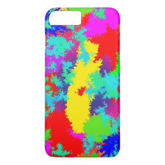 Colourful Random Trippy Pattern iPhone 7 Plus Case