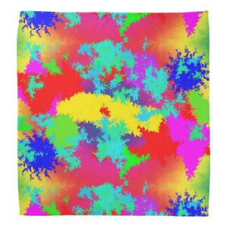 Colourful Random Trippy Pattern Kerchief