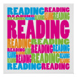Colourful Reading Posters
