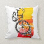 Colourful Red Bike