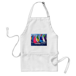 Colourful Regatta Apron