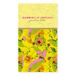 Colourful Retro Art Deco Floral Collage