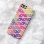 Colourful Retro Geometric Pattern iPhone 6 case Barely There iPhone 6 Case