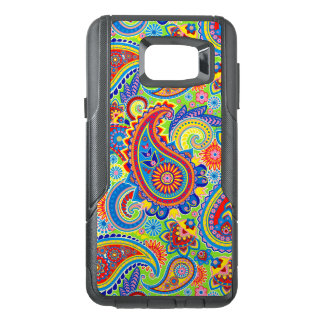 Colourful Retro Paisley Seamless Pattern