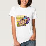 Colourful Retro Tropical Fish Shirt