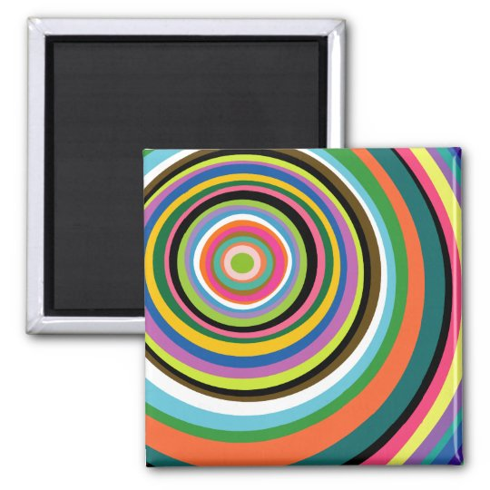 Colourful Rings Magnet