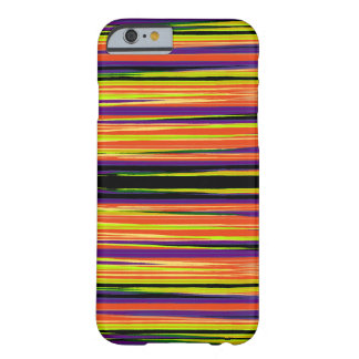 Colourful ripped paper pattern barely there iPhone 6 case