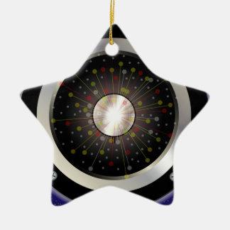 Colourful Rock Guitar Speaker Christmas Ornament