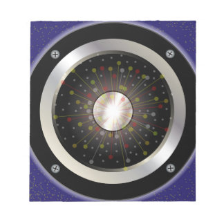 Colourful Rock Guitar Speaker Notepad