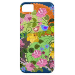 Colourful Romantic faux Vintage Floral & swirls iPhone 5 Covers
