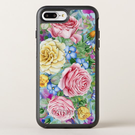 Colourful Roses Illustration OtterBox Symmetry iPhone 7 Plus Case