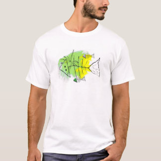 Colourful rotten fish T-Shirt