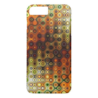 Colourful Rounded Stripes pattern iPhone 8 Plus/7 Plus Case