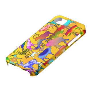 Colourful Safari Iphone case