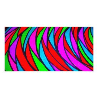 Colourful Scales - alt Customized Photo Card
