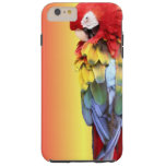 Colourful Scarlet Macaw Parrot iPhone Cover Tough iPhone 6 Plus Case