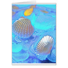 Colourful Sea Glass Card