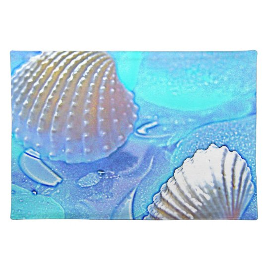 Colourful Sea Glass Placemat