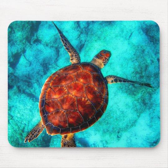 Colourful Sea Turtle Mouse Mat