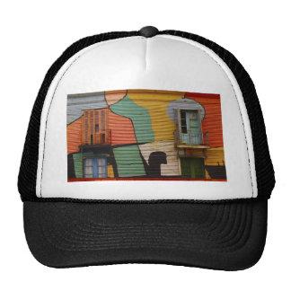 Colourful Shacks Buenes Aires Argentina Hat