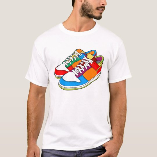 Colourful Shoes T-Shirt