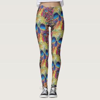 Colourful skull  Leggings