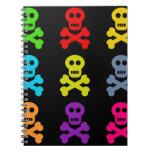 Colourful Skulls