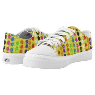 Colourful small Dots Printed Shoes