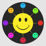 Colourful Smiley Faces