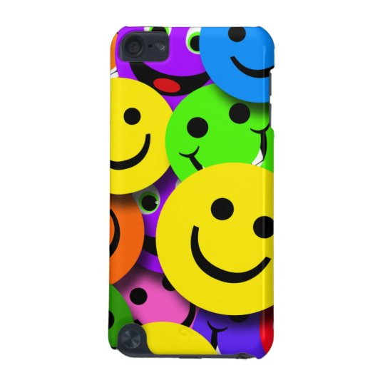 Colourful Smiley Faces iPod Touch (5th Generation) Cover