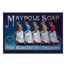 Colourful Soap Advertisement